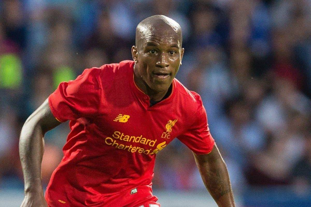 HUDDERSFIELD, ENGLAND - Wednesday, July 20, 2016: Liverpool's Andre Wisdom in action against Huddersfield Town during pre-season friendly match at the John Smithís Stadium. (Pic by Paul Greenwood/Propaganda)