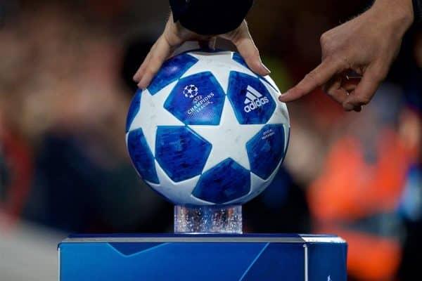 Adidas, Champions League ball, general, matchday (Pic by David Rawcliffe/Propaganda)