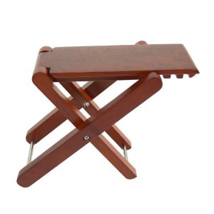 wood-footstool