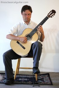 Sitting Position & Posture (Footstool) - Classical Guitar