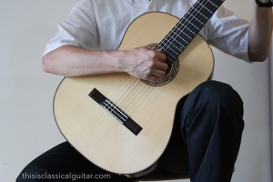 Right Hand Position (Tasto) - Classical Guitar