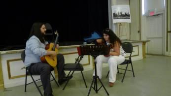Gohar Vardanyan and Jesse Luciani