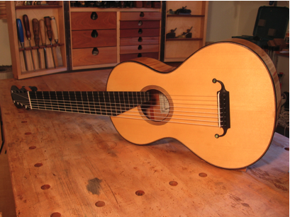 8 string Lacote style guitar
