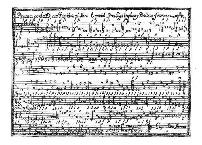 Sanz Pavanas in A minor