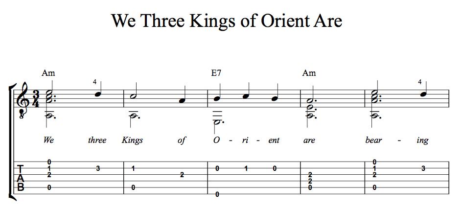christmas songs we three kings of orient are lyrics