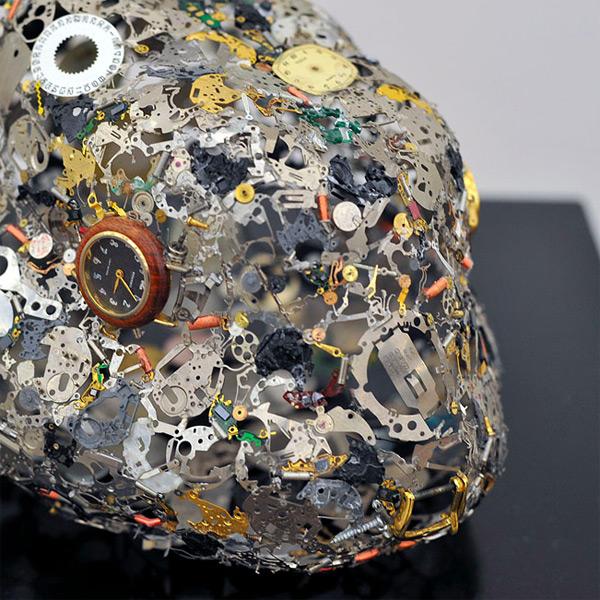 Watch Part Sculptures by Natsumi Honda watches sculpture multiples animals