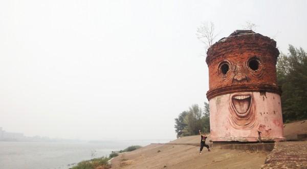 The Whimsical Street Art of Nomerz street art