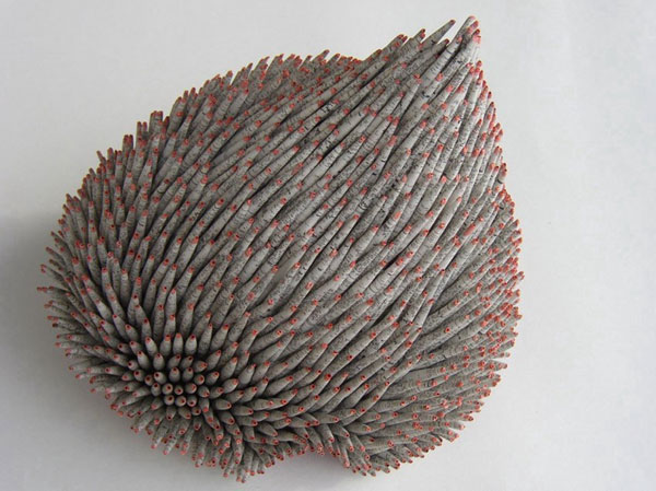 Paper Sculptures by Valérie Buess sculpture paper