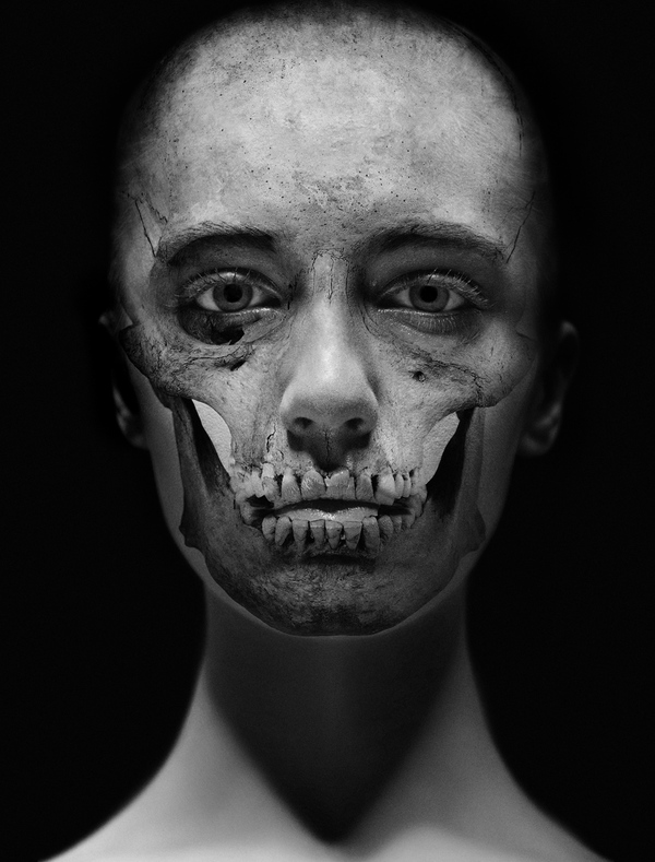 Skull Portraits by Carsten Witte photography anatomy