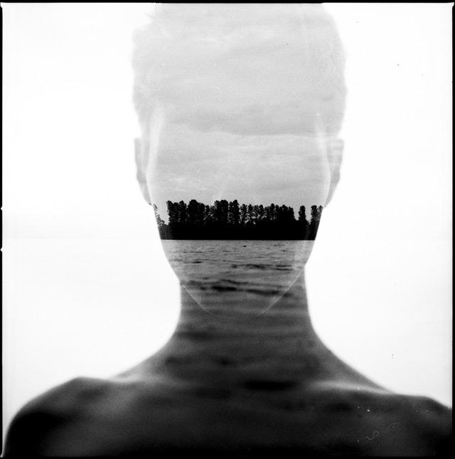 Analog Double Exposure Photographs by Florian Imgrund photography