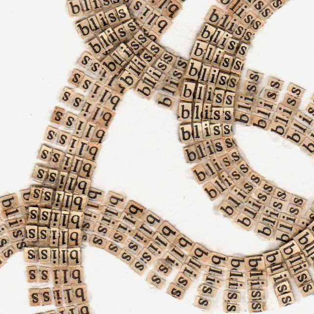 Text Drawings Created by Cutting Thousands of Letters from Books and Religious Texts paper collage books art