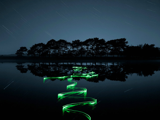 Light Trail Photographs by Joel James Devlin photography long exposure light