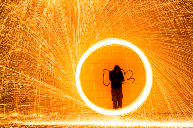 Light Painting by Simon Berger photography light