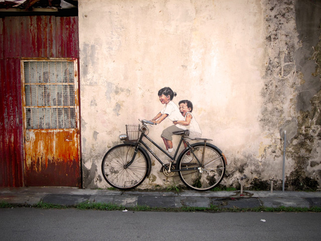 Interactive Paintings on the Streets of Malaysia street art Malaysia