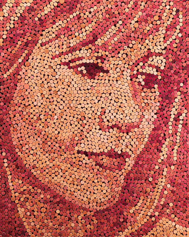 Wine Cork Portraits by Scott Gundersen wine portraits cork