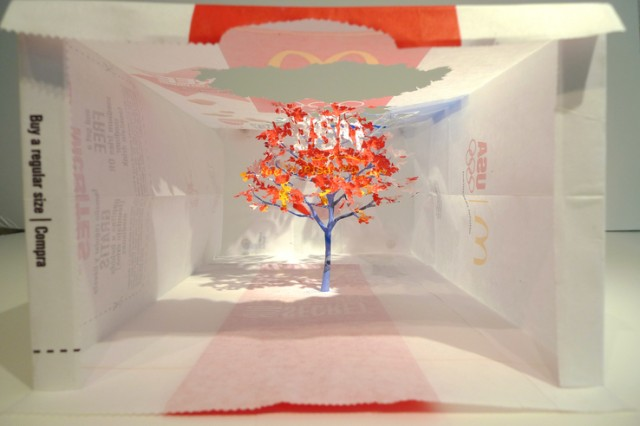 Paper Bag Trees by Yuken Teruya trees paper