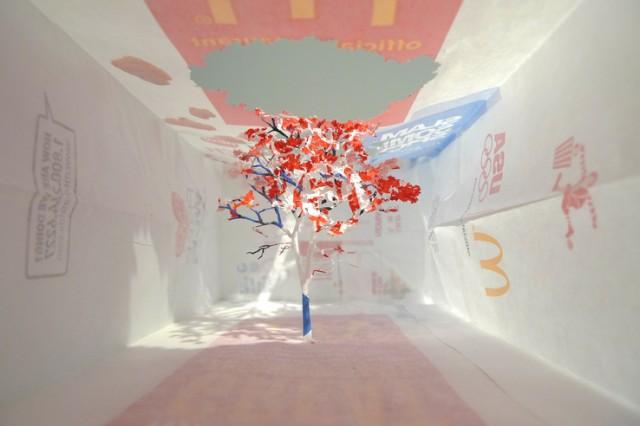 Paper Bag Trees by Yuken Teruya trees paper