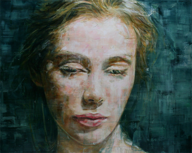 Stunning Oil Portraits by Harding Meyer portraits painting