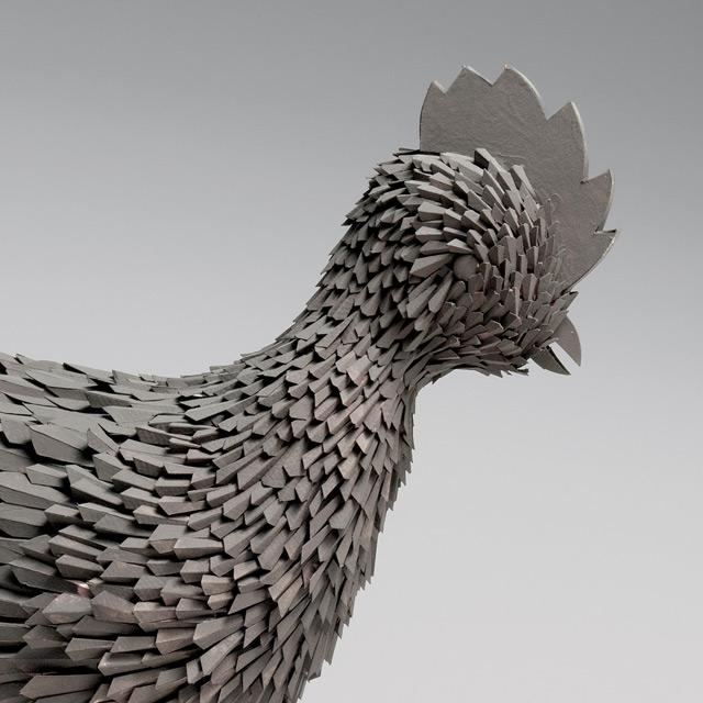 Irving Harper: Works in Paper sculpture paper books animals