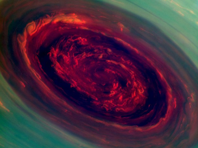 A Hurricane on Saturn weather space Saturn hurricanes