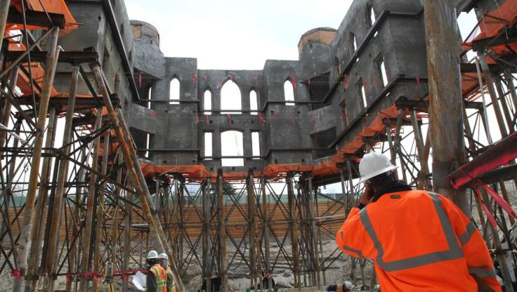The Floating Temple: How to Lift a Seven Million Pound, 112 year old Building  history churches architecture