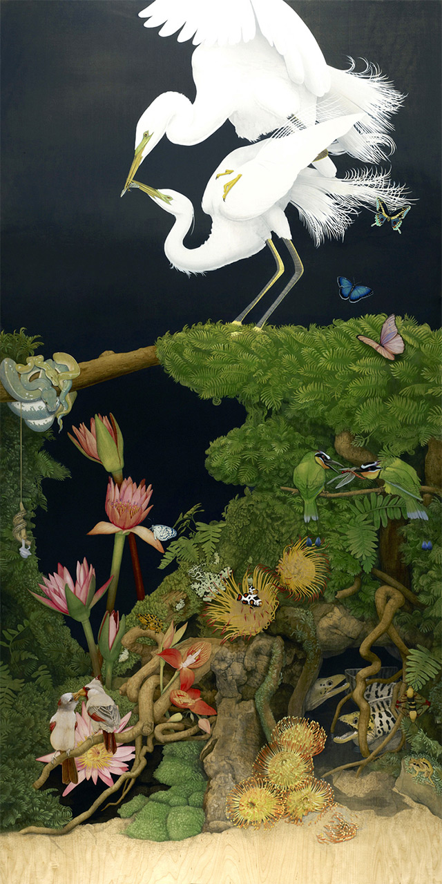 Surreal Wildlife Paintings By Tiffany Bozic Colossal