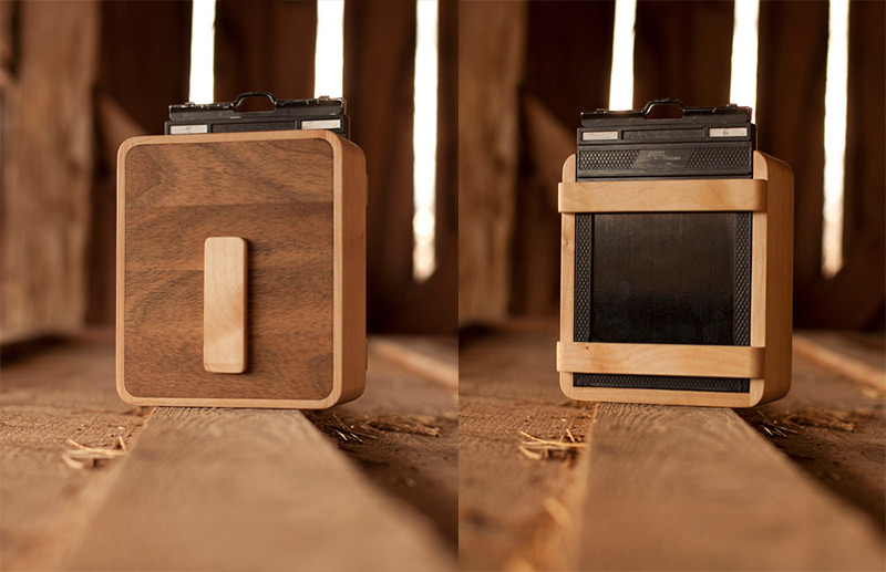 Put Down the iPhone and Pickup an ONDU Wooden Pinhole Camera wood cameras