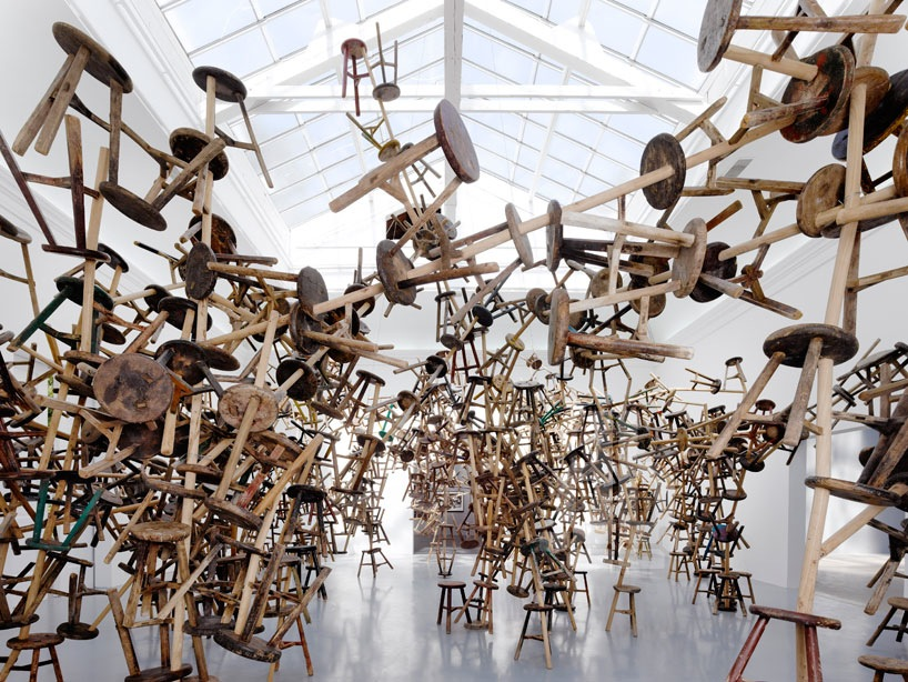 Bang Ai Weiweis Latest Installation Made From 886
