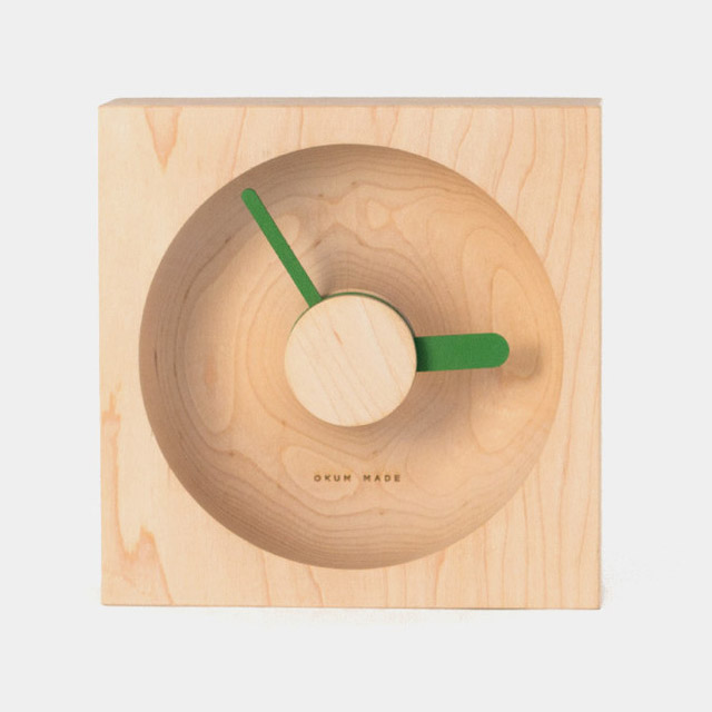 OClock: Wood & Cork Clocks by Okum Made wood design clocks