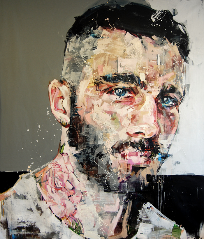New Portraits by Andrew Salgado portraits painting