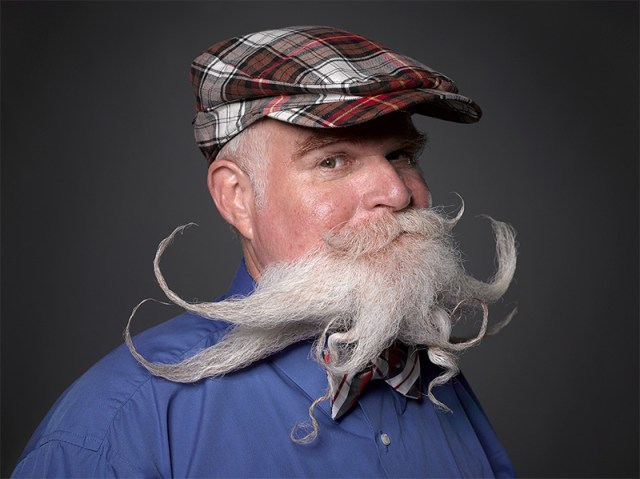 Absurd Portraits from the National Beard & Mustache Championships by Greg Anderson portraits beards