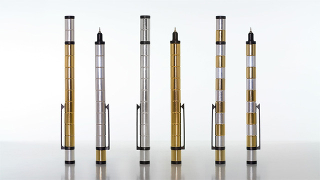 Polar: A Fun Modular Pen Made of Powerful Neodymium Magnets toys pens magnets