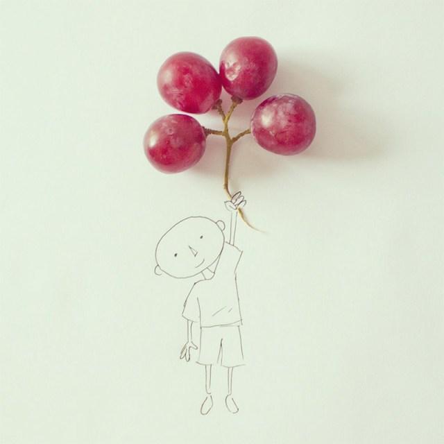 Art Director Javier Pérez Turns Everyday Objects into Whimsical Illustrations illustration humor