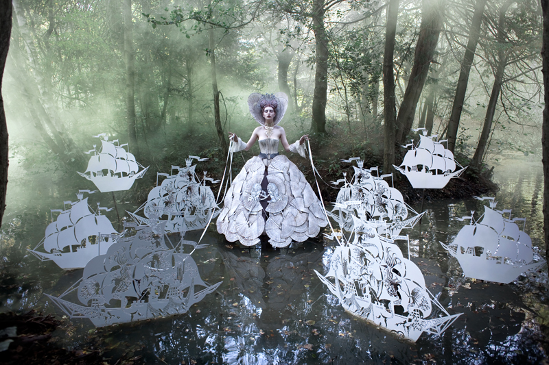 Wonderland: A Fantastical Voyage of Remembrance Through Portrait Photography by Kirsty Mitchell portaits conceptual