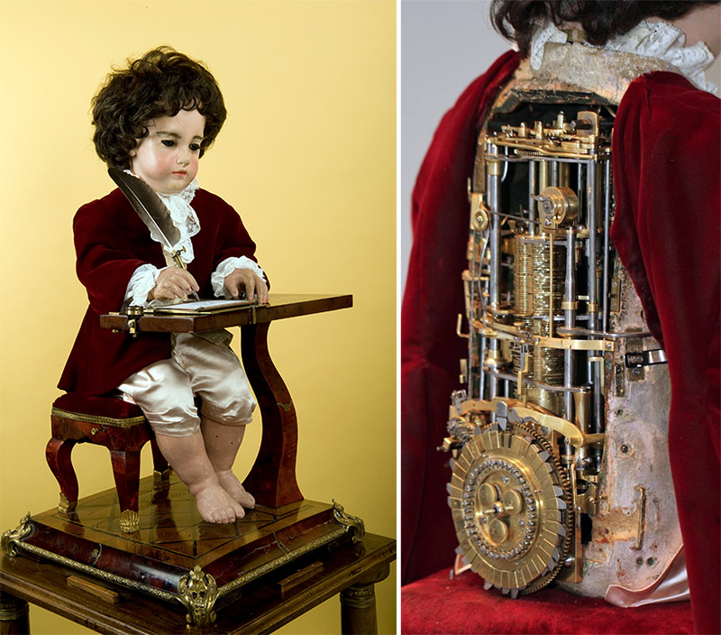 This Programmable 6,000 Part Drawing Boy Automata is Arguably the First Computer and It Was Built 240 Years Ago history automata
