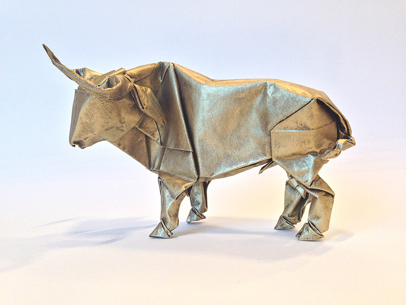 Origami Artist Sipho Mabona Will Attempt to Fold a Life Sized Elephant from a Single Piece of Paper paper origami animals
