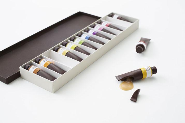 Edible Chocolate Art Supplies by Nendo food chocolate