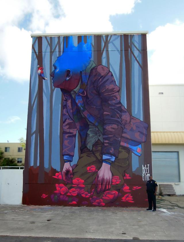 Surreal Murals by Etam Cru Turn Drab Facades into Eye Popping Imagery street art murals