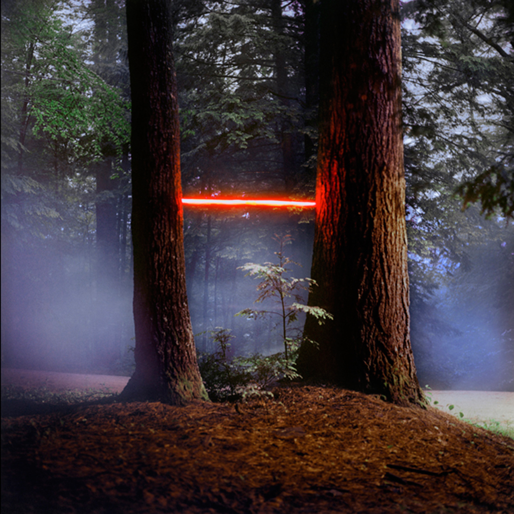 Landscape Light Installations by Barry Underwood light landscapes installation