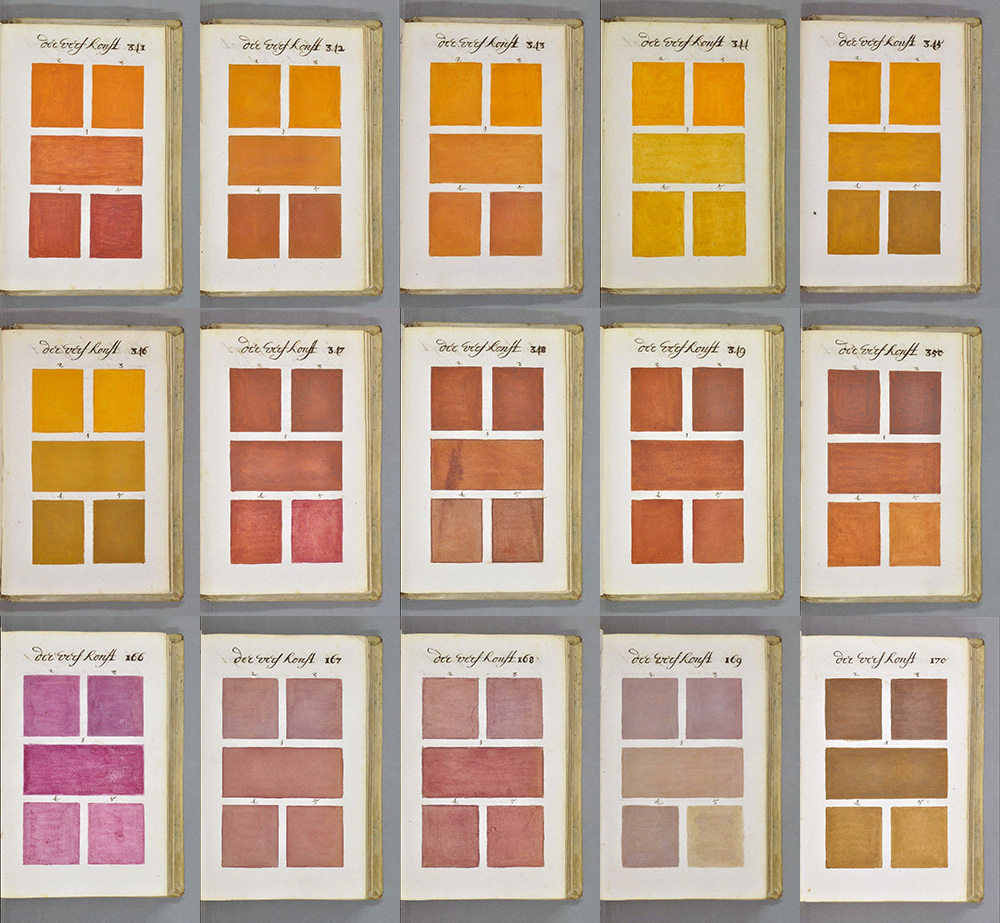 271 Years Before Pantone, an Artist Mixed and Described Every Color Imaginable in an 800 Page Book watercolor history color books