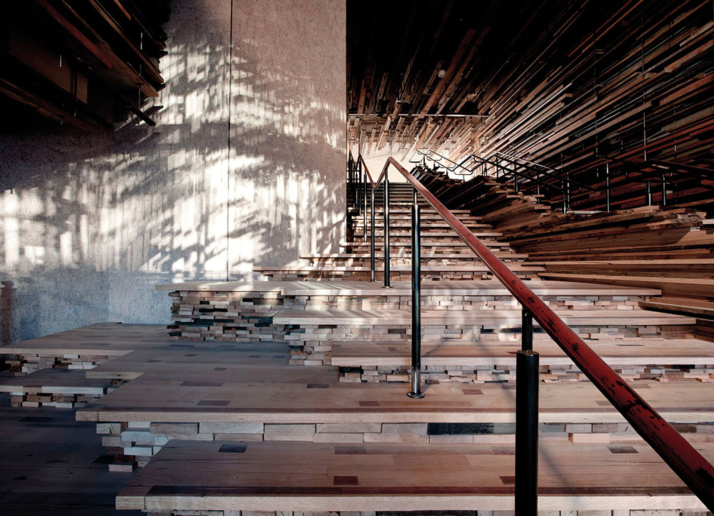 Stunning Entryway Of The Nishi Building Includes A