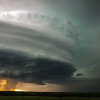 Beautiful Supercell Storm