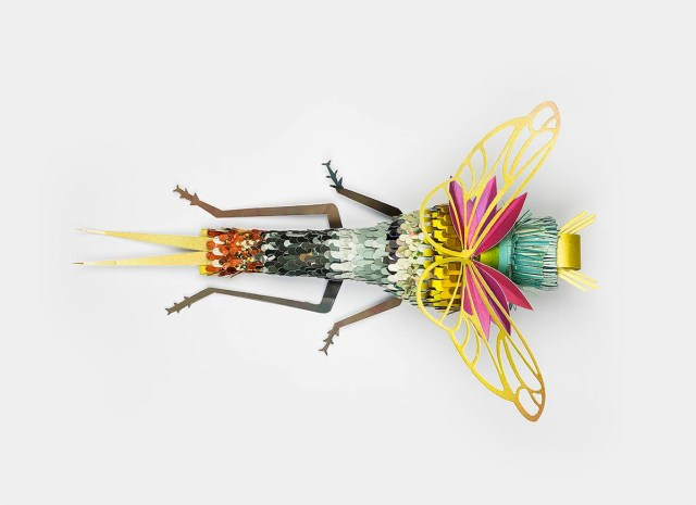 Paper Insects by Soon