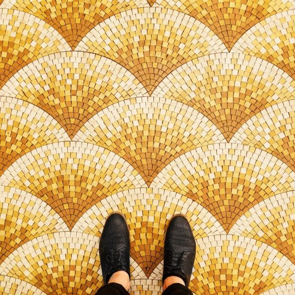 The Ornate Mosaics and Colorful Tiles of Parisian Floors Shared     unnamed 7
