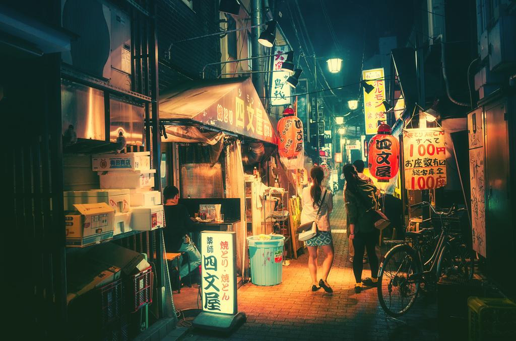 Cinematic Photographs of Tokyo at Night by Masashi Wakui | Colossal