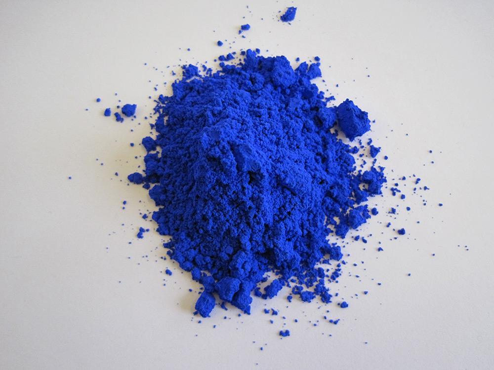YInMn blue (photo courtesy Oregon State University)