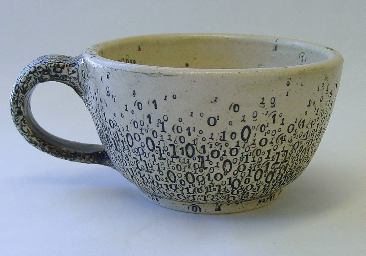 Kernel Panic New Binary Ceramics Punctuated With
