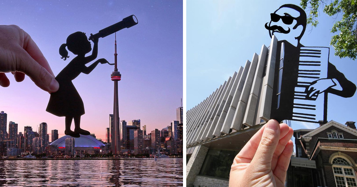 New Paper Cutouts By Paperboyo Turn Landmarks Across The