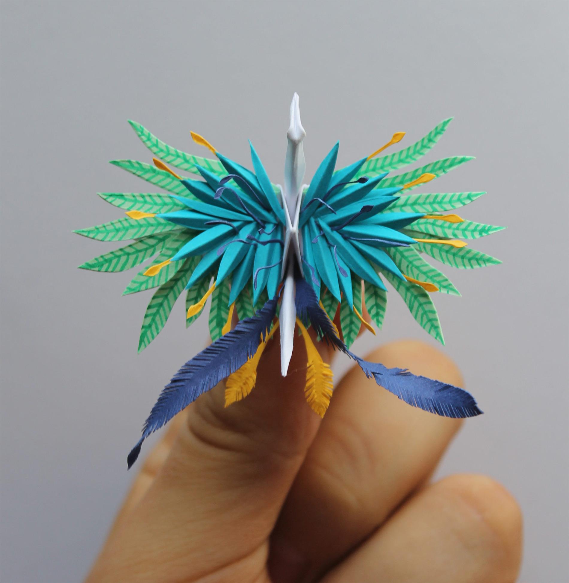 Cristian Marianciuc Creates A New Decorated Origami Paper