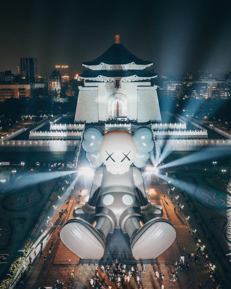 Taipei installation, image via #AllRightsReserved